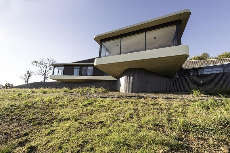 Luigi Rosselli Architects   High Country House   © Edward Birch