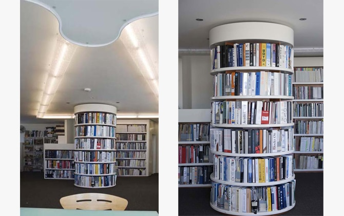 Luigi Rosselli Architects | architectural libraries and studies