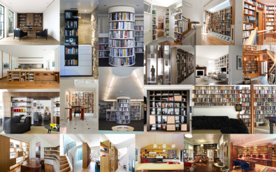 Luigi Rosselli, Library, Custom Joinery, Library Design, Bookshelves, Study