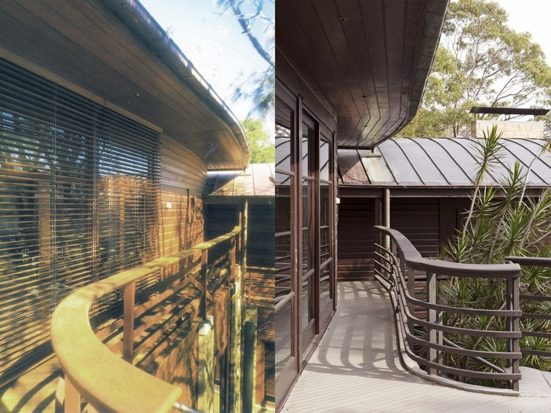 Luigi Rosselli, Balcony, Timber, Timber Balustrade, Copper Roof