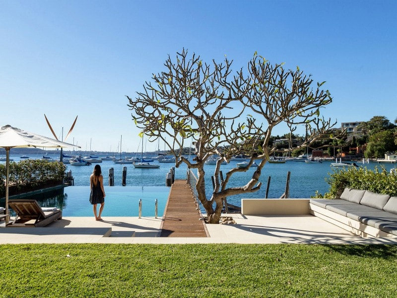 Luigi Rosselli, Waterfront View, Waterfront Palazzo, Timber Deck