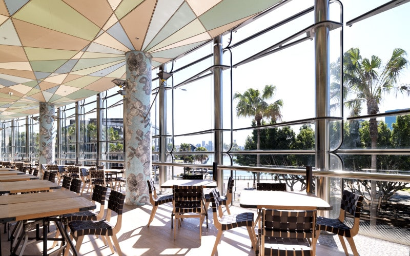 Luigi Rosselli, Restaurant, Dining Area, Seating Area, Full Height Windows Glazing