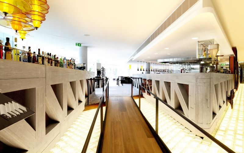 Luigi Rosselli, Restaurant, Bar Design