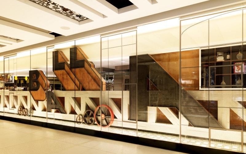 Luigi Rosselli, Restaurant, Bar Design