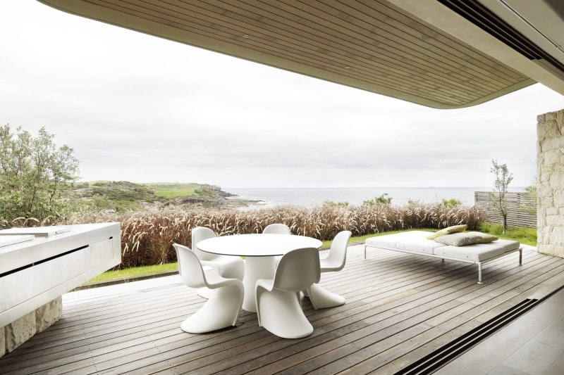 Timber Deck, Covered Outdoor Seating Area