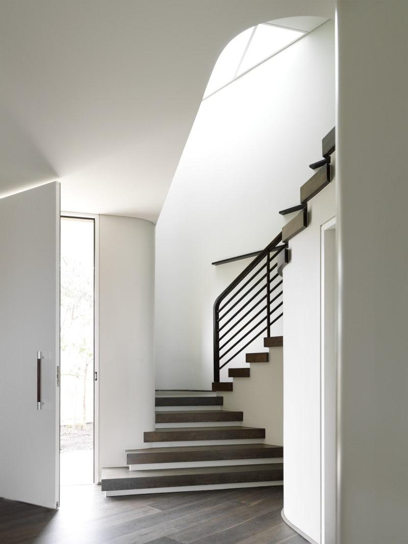 Luigi Rosselli, Timber Stair, Metal Stair Balustrade