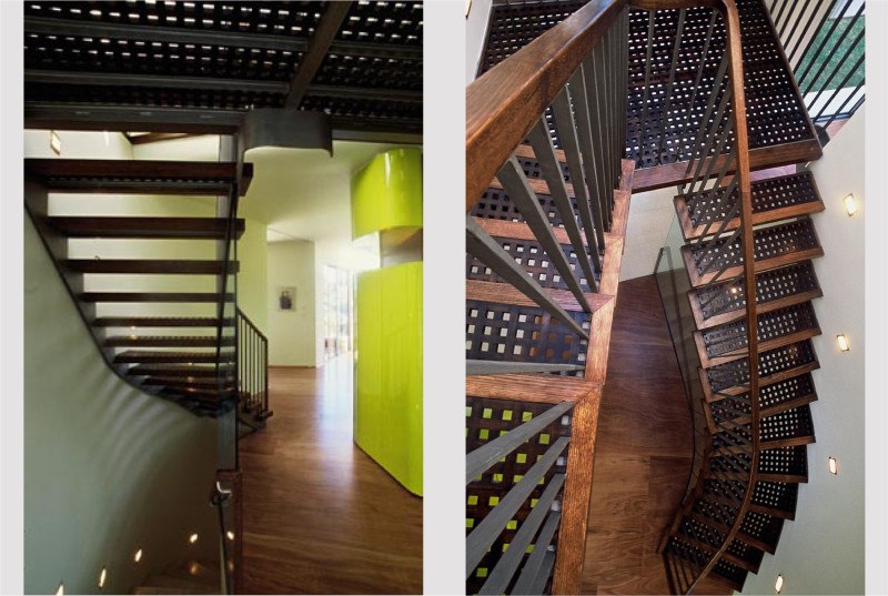 Luigi Rosselli, Stairs, Steps, Timber and Metal Stairs, Timber Floorboards