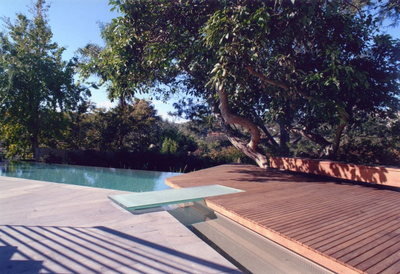 Luigi Rosselli, Timber Deck, Swimming Pool, Pool Backyard, Paved Backyard