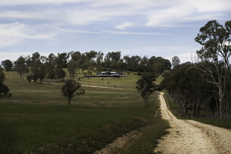Luigi Rosselli, rural Australian architecture retreat