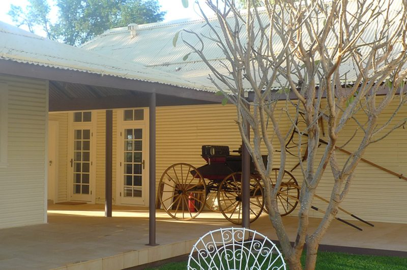 Luigi Rosselli Architects, Pilbara Station, Historic Homestead, Pressed Metal Walls, Alterations and Additions
