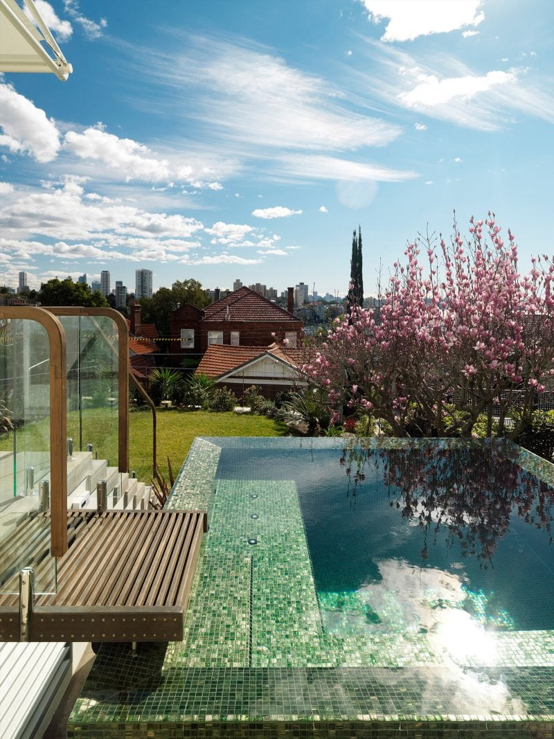 Swimming Pool, Timber Deck, Cherry Blossom Tree, Pool