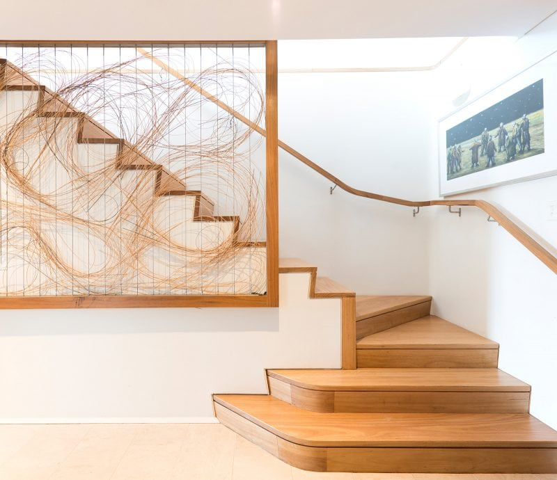 Luigi Rosselli, Screen, Timber Stairs
