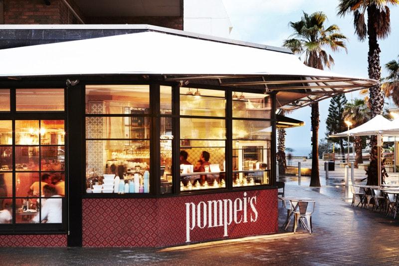 Luigi Rosselli, Restaurant, Cafe, Metal Windows, Pompei's