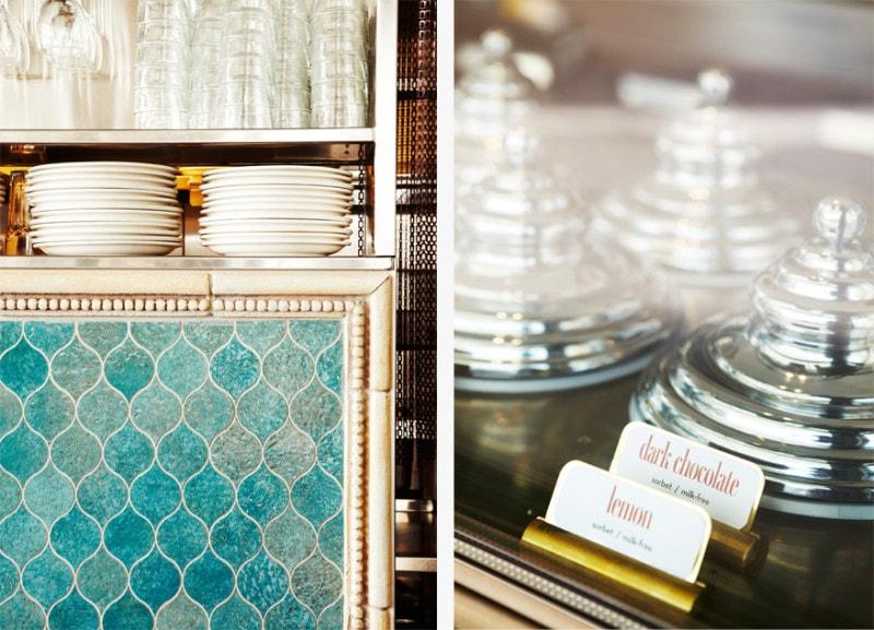 Luigi Rosselli, Cafe, Commercial Interior Architecture, Kitchen, Restaurant, Tiled Splashback