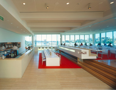 Luigi Rosselli, Art Gallery Restaurant, Restaurant Design, Kitchen, Dining Area