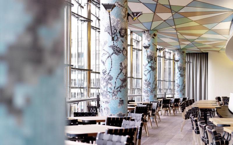 Luigi Rosselli, Restaurant, Dining Area, Seating Area