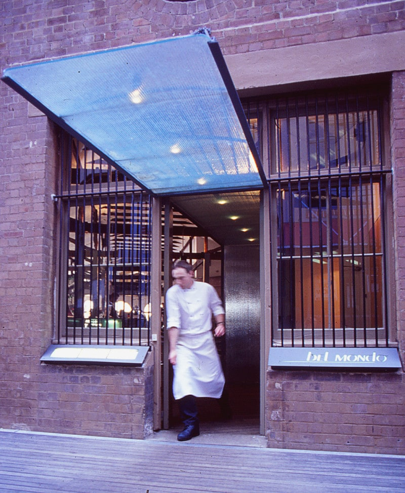 Luigi Rosselli, Glass Awning, Steel Windows, Restaurant, Restaurant Street Front