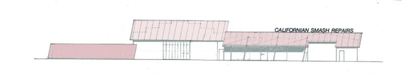 Luigi Rosselli Architects | California Smash Repairs | © Luigi Rosselli Architects