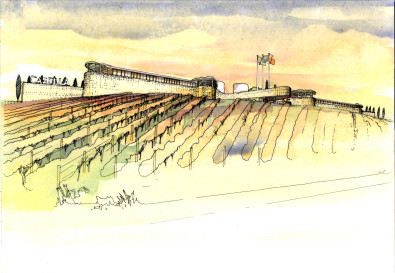 Luigi Rosselli, Sketch, Winery