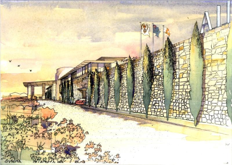 Luigi Rosselli Architects | Casella Winery | © Luigi Rosselli Architects