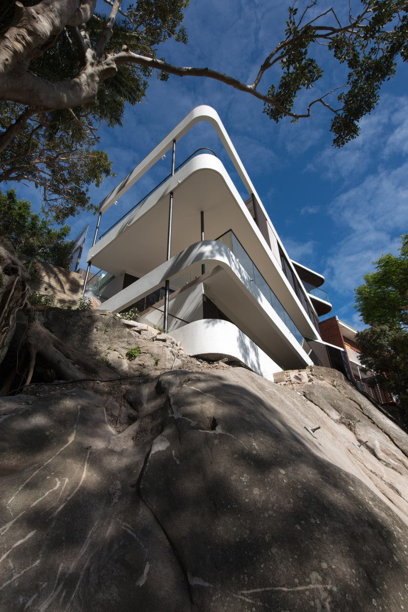 Luigi Rosselli Architects | Cliff Top House | © Edward Birch