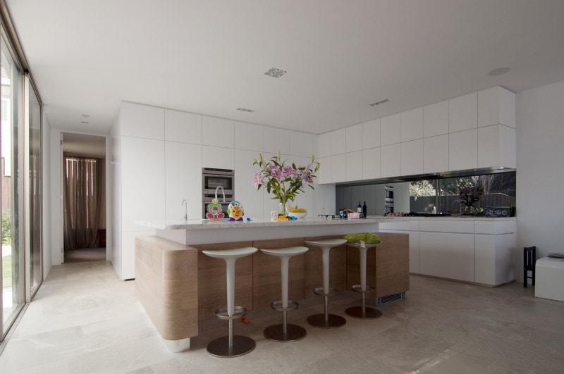 Luigi Rosselli, Kitchen Design, Kitchen, Timber Veneer Island Bench