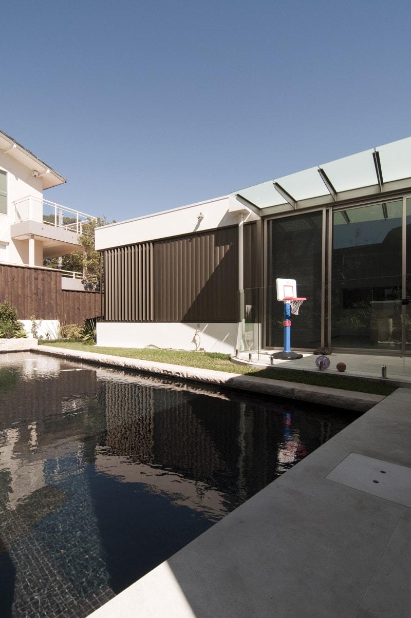 Deck In Canopy Luigi Rosselli Architects