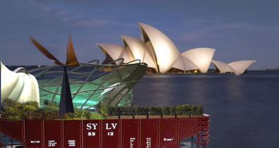Luigi Rosselli, Render, Opera House, Architecture Competition