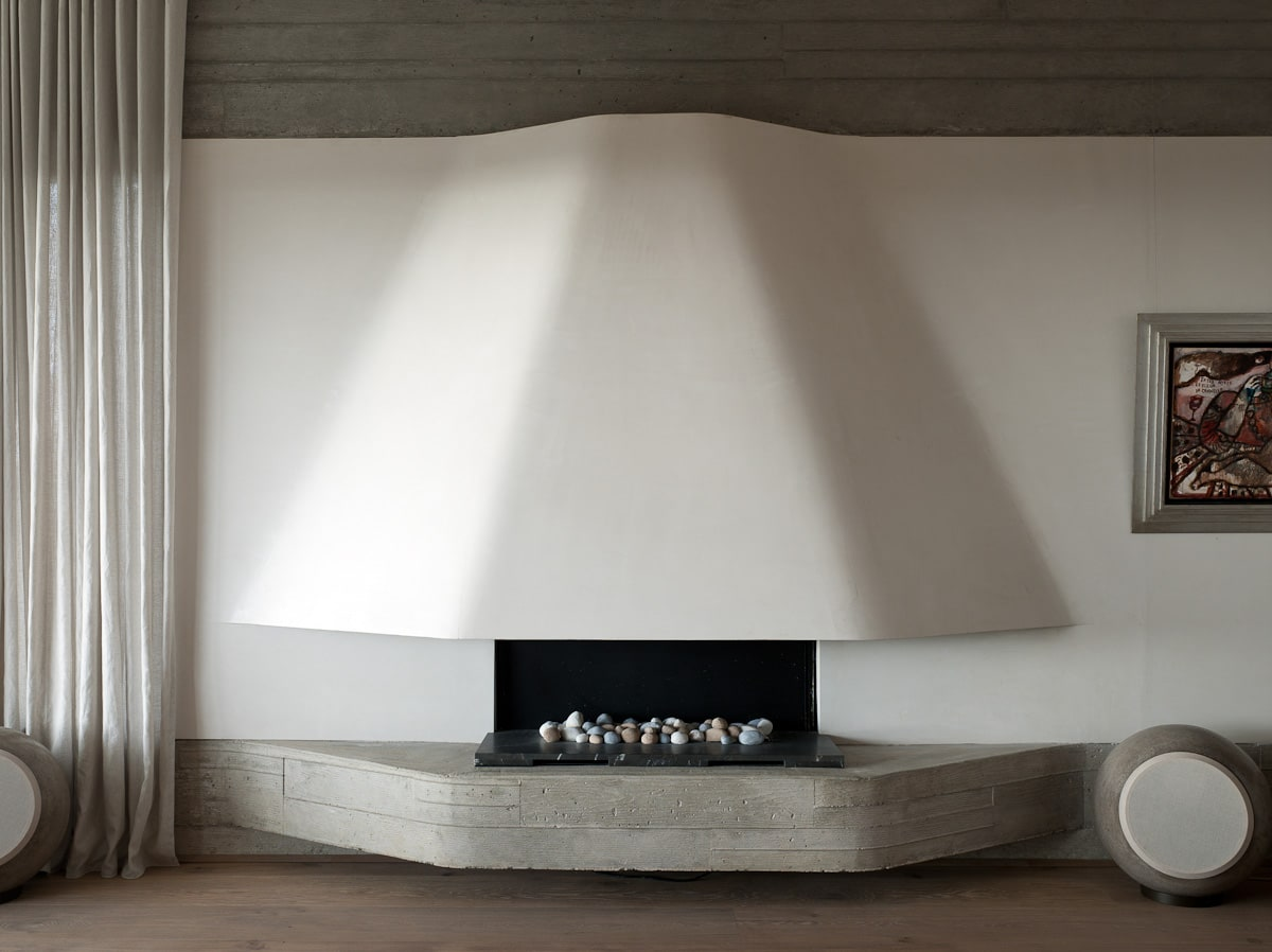 Luigi Rosselli Architects | Architectural Fireplaces