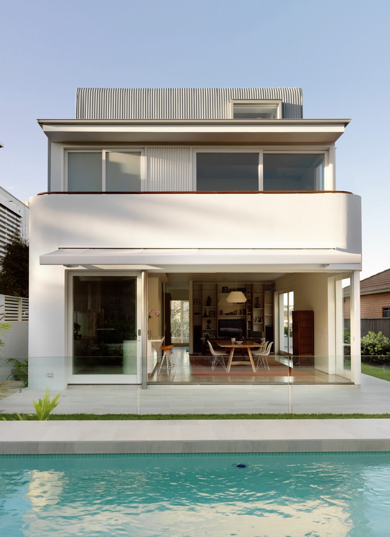Luigi Rosselli Architects | Fletcher Street | ©  Justin Alexander