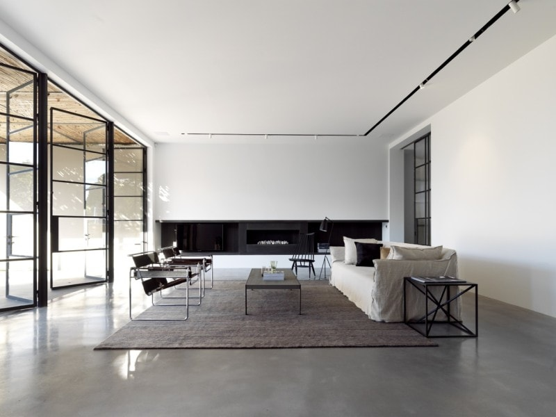 Luigi Rosselli, Living Room, Steel Framed Windows