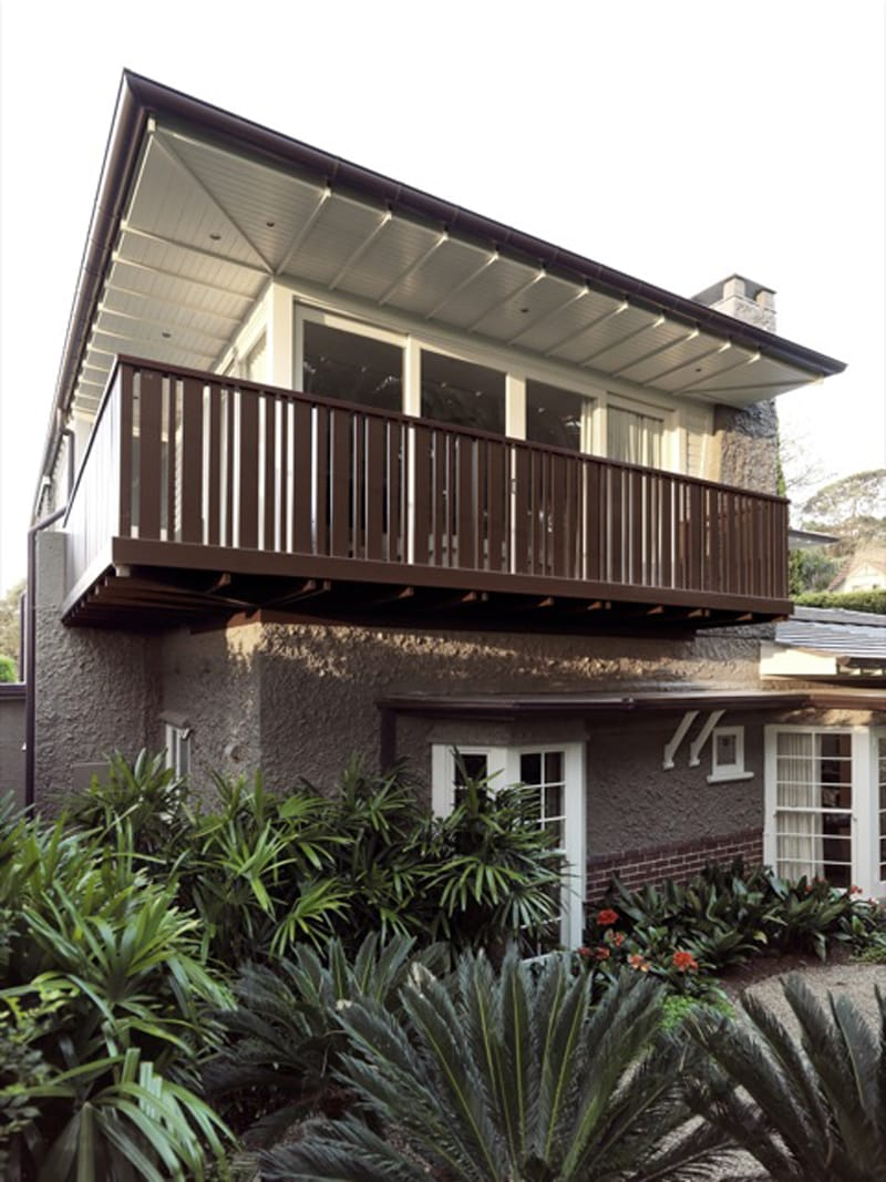Luigi Rosselli, Traditional Classical Architecture, Alterations and Additions, Renovations, Timber Balustrade, Timber Roof
