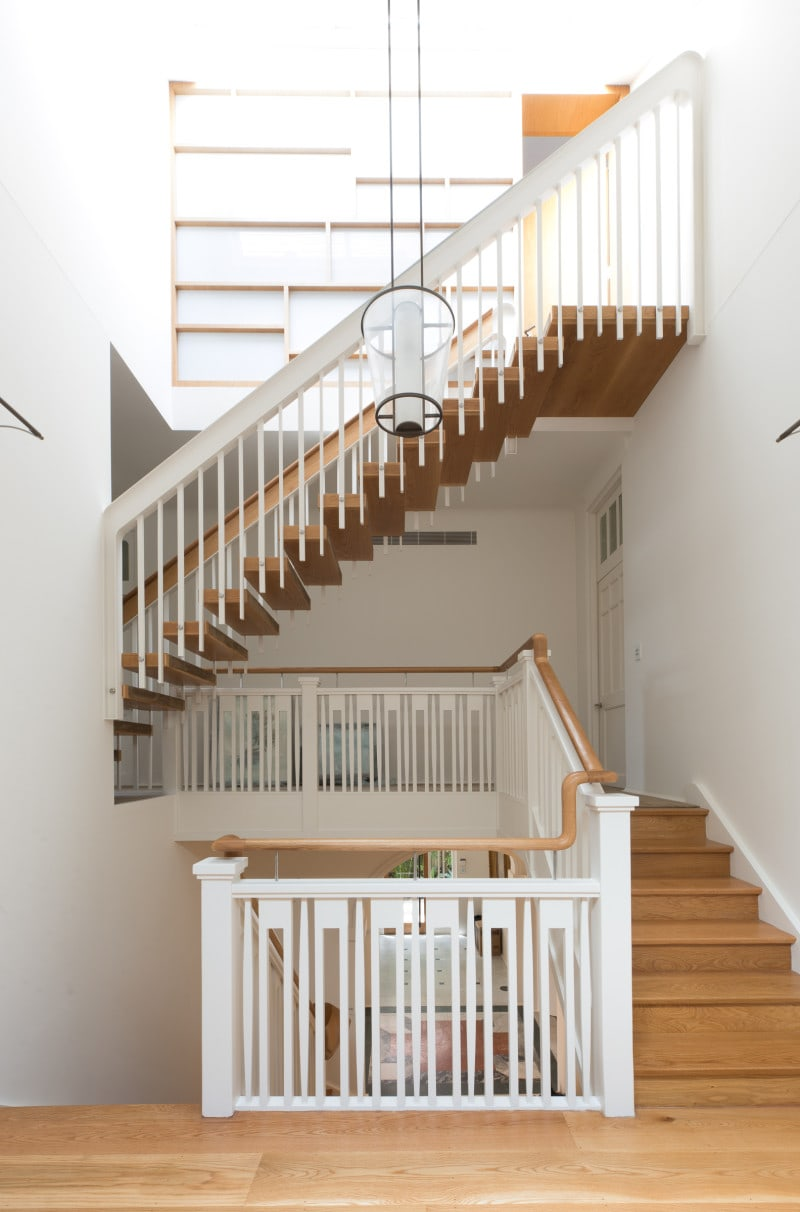 Luigi Rosselli, TImber Stair, Tradition Stair, Timber Balustrade