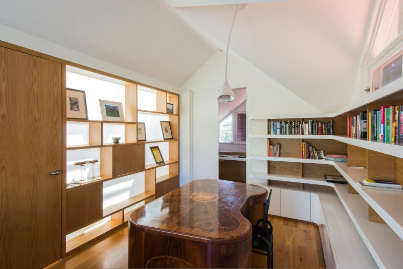 Luigi Rosselli, Custom Designed Joinery, Book Shelves