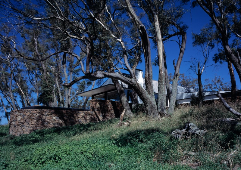 Luigi Rosselli, House on Hill, House in Bushland