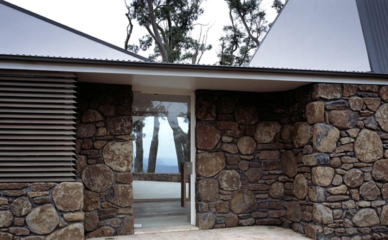 Luigi Rosselli, Stone Wall, Natural Stone Wall, Architecture