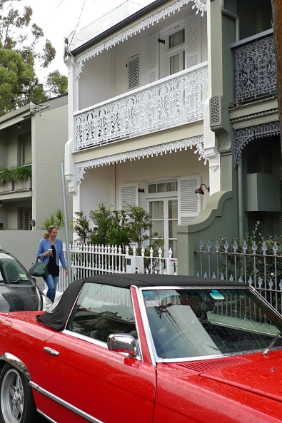 Classic Paddington terrace house. Photo: Luigi Rosselli