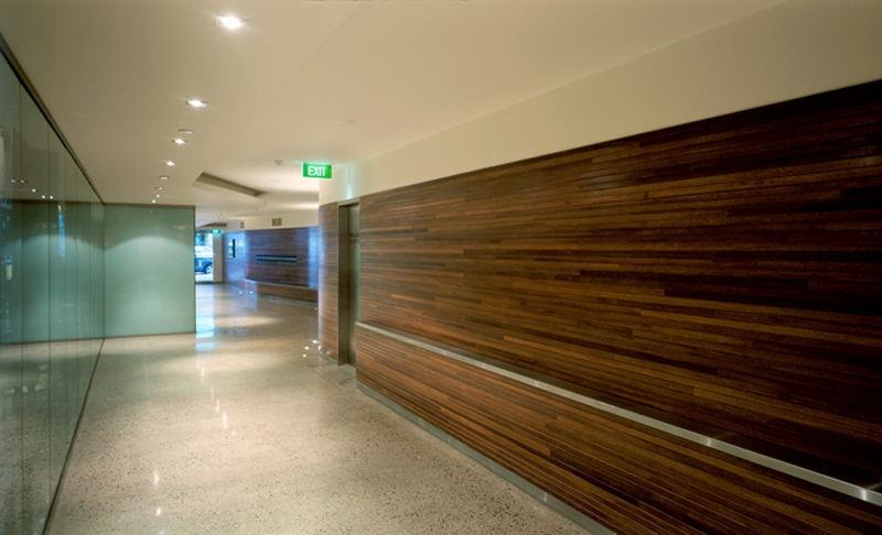 Luigi Rosselli, Hallway, Timber Walls, Office