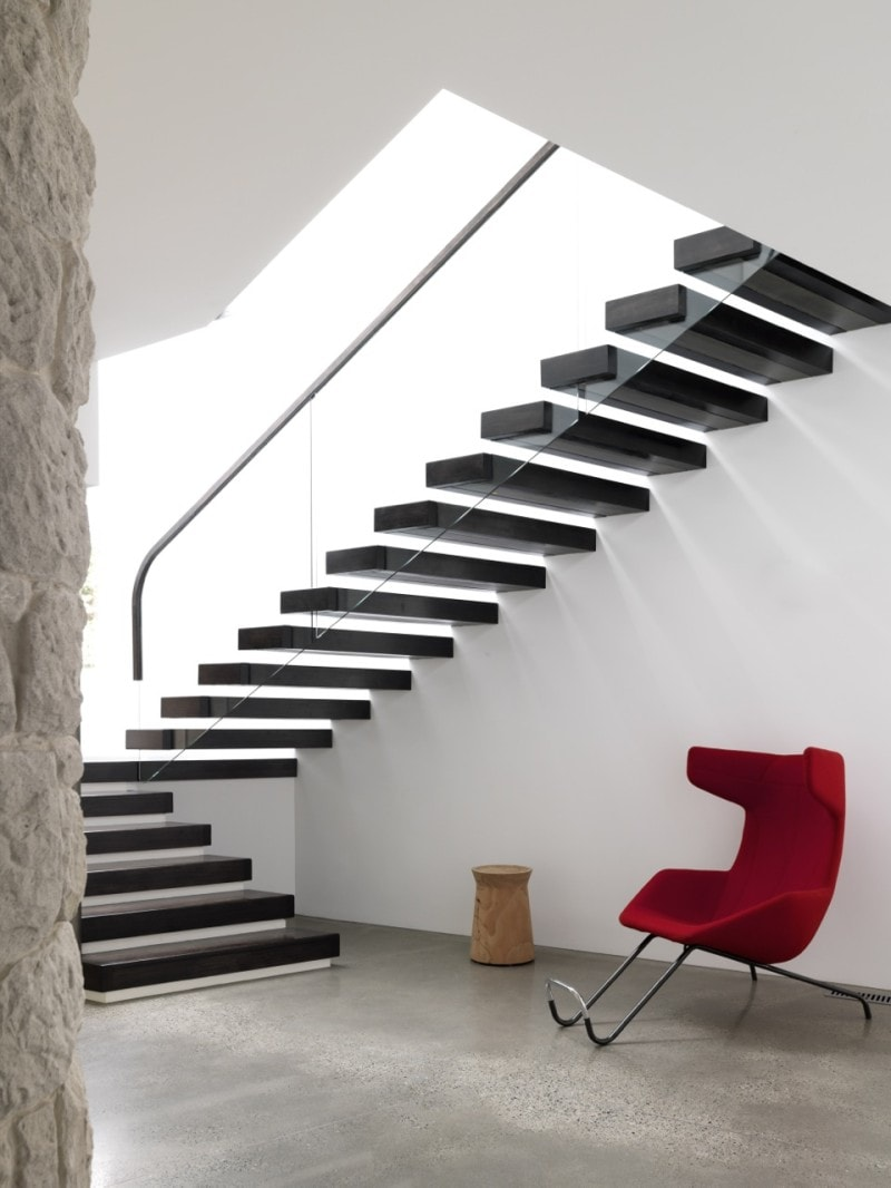 Luigi Rosselli, Cantilever Stairs, Floating Stairs