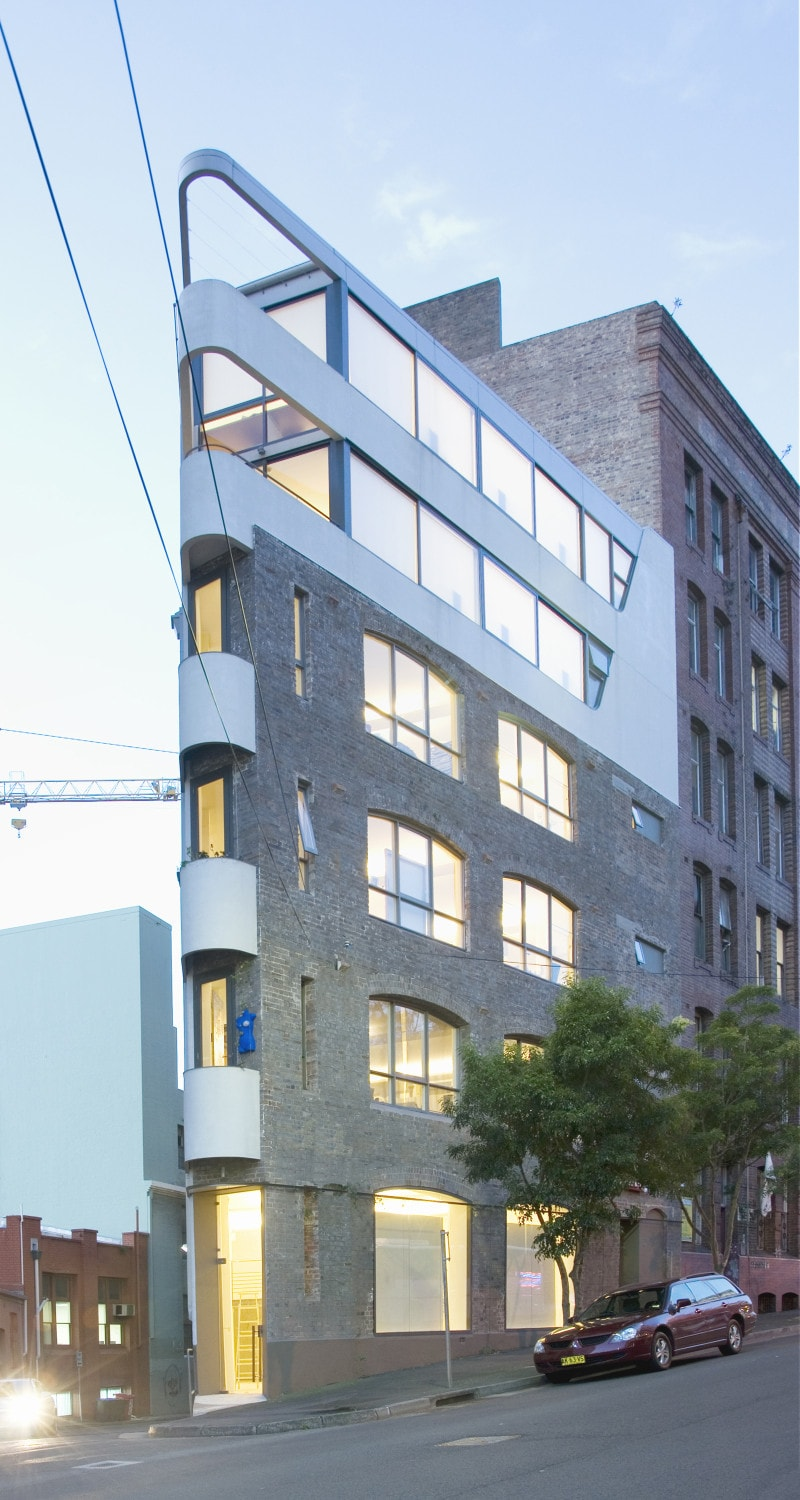 Luigi Rosselli Architects | Surry Hills Studios | © Edward Birch