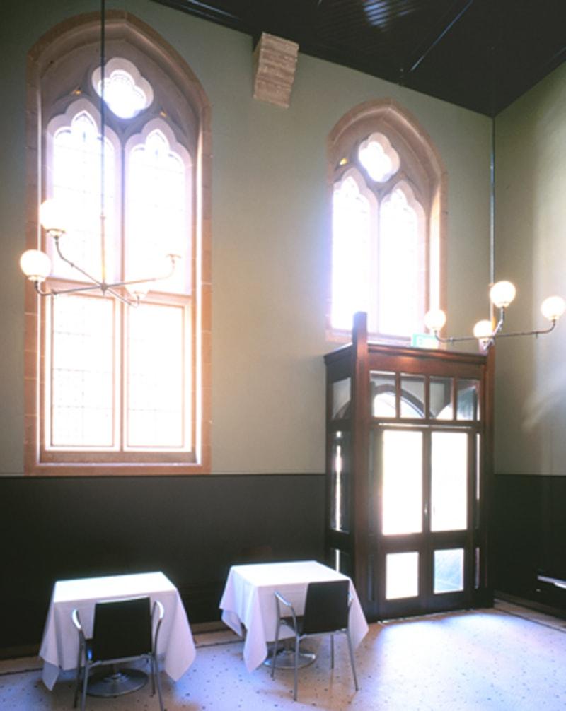 Luigi Rosselli, Adaptive Reuse, Sydney, The Rocks, Gothic Architecture, Interiors