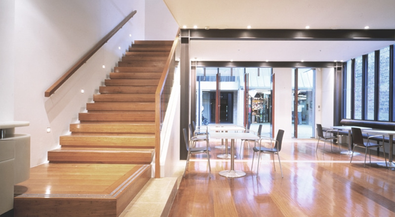 Luigi Rosselli, Timber Stair, Timber FLoorboards, Alterations and Additons