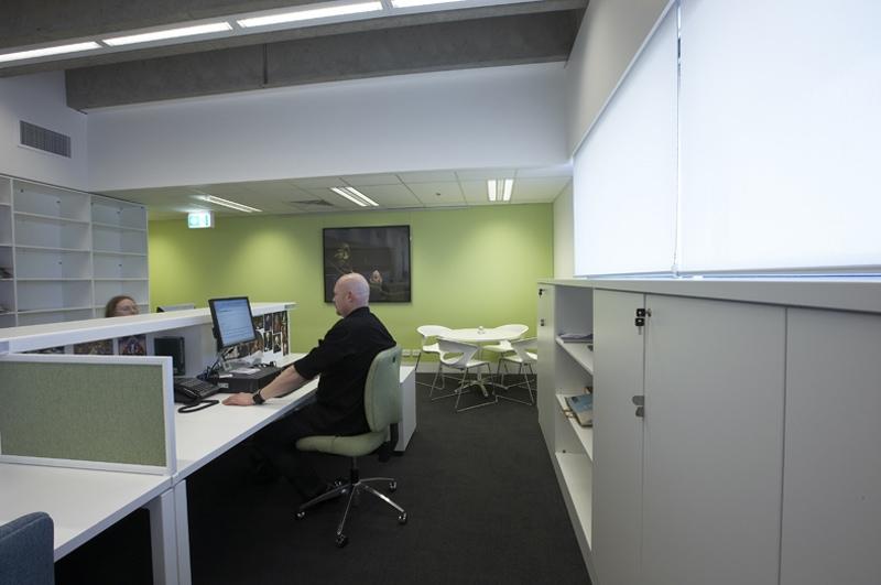Luigi Rosselli, UTS, School Architecture, Office, Computer Lab, Computer Desks