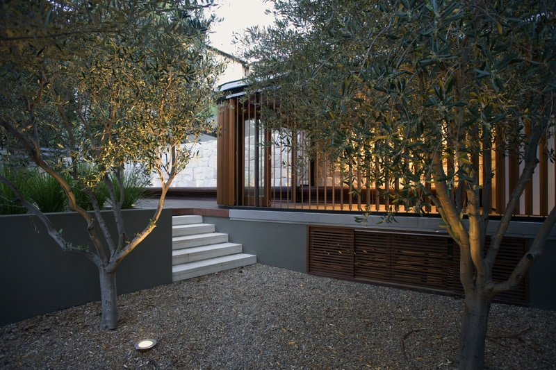 Luigi Rosselli, Integrated Landscaping, Backyard, Cabana, Pool House, Planter Box
