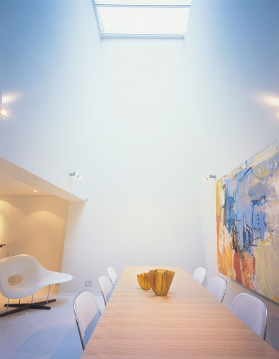 Luigi Rosselli, Skylight, Dining Room