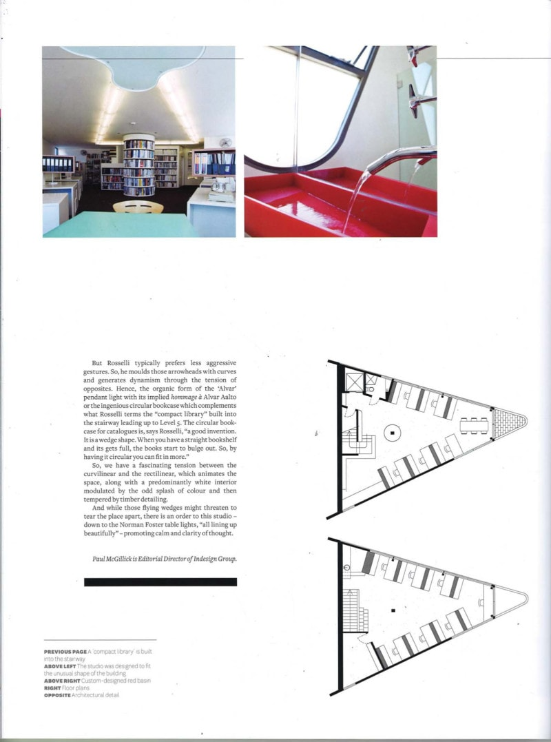 Luigi Rosselli Architects | Indesign - A new angle