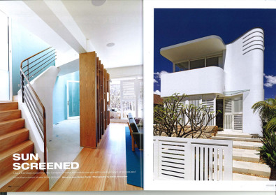 Luigi Rosselli, Timber Stairs, Steel Curved Stair Balustrade, Curved Concrete, Curved Architecture