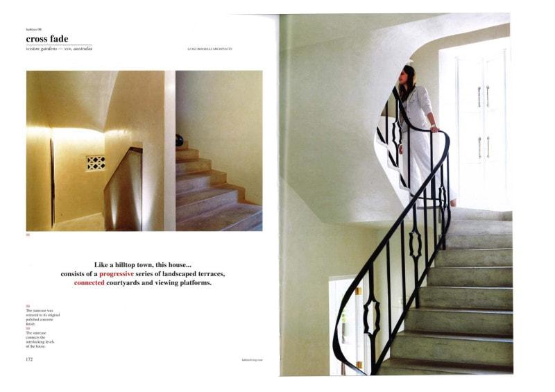 Luigi Rosselli, Curved Steel Stair, Curved Stair