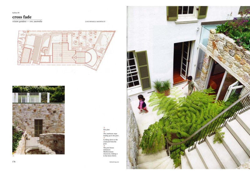 Luigi Rosselli, External Stair, Landscape Design