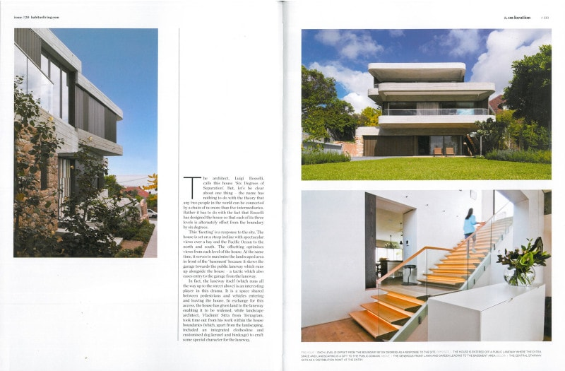 Luigi Rosselli, Offset Balconies, Concrete, Off Form Concrete